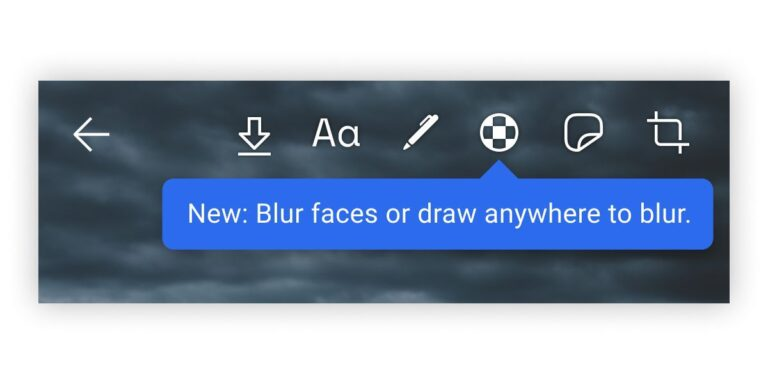 Face Blur Tool App References